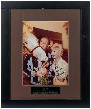 Mister Ed Signed Photo. Color photograph signed by