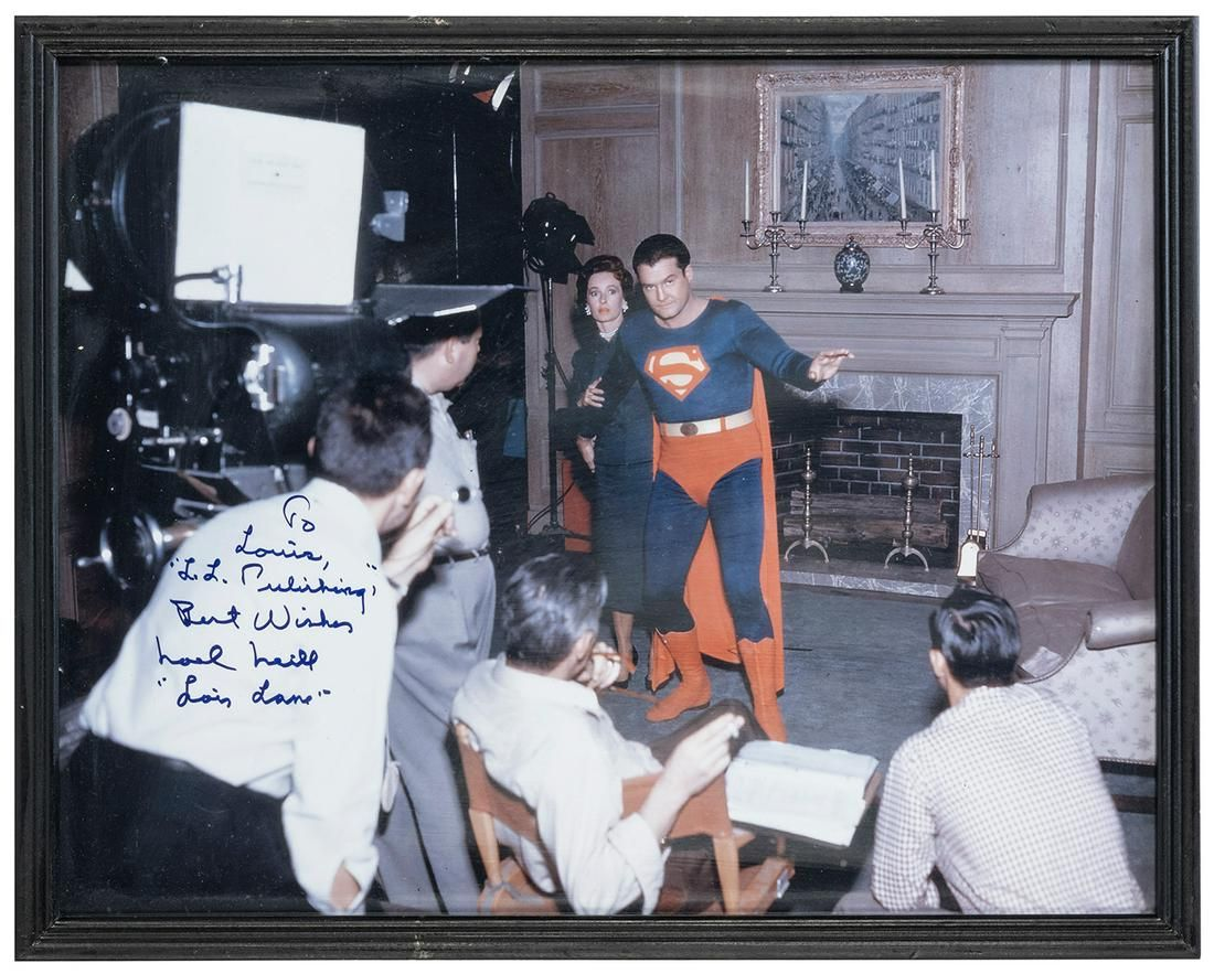 [The Adventures of Superman] Noel Neill Signed