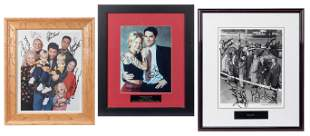 Lot of Television Stars Signed Photographs. Being