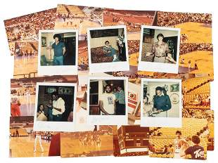 Lot of Signed 1978-79 Phoenix Suns Photographs. Being a