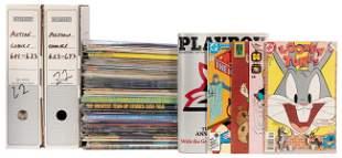 [COMICS & MAGAZINES]. Over 120 comics including: Modern
