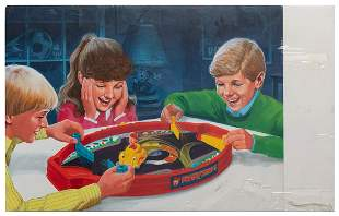 "Original Milton Bradley ""Bumpin'"