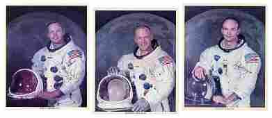 Apollo 11 Signed Photographs. Official NASA photographs