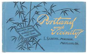 [AMERICAN PICTORIAL GUIDEBOOK]. Portland and Vicinity.