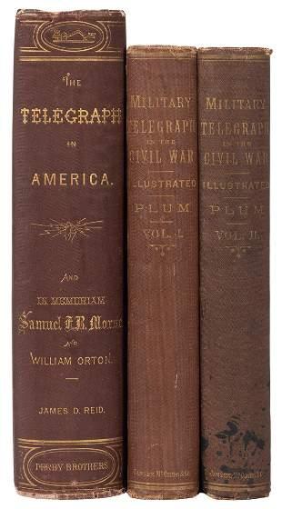 [AMERICAN TELEGRAPHY]. PLUM, William R. The Military
