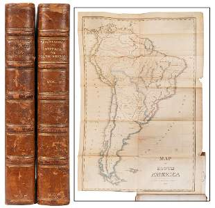 BRACKENRIDGE, Henry Marie (1786–1871). Voyage to