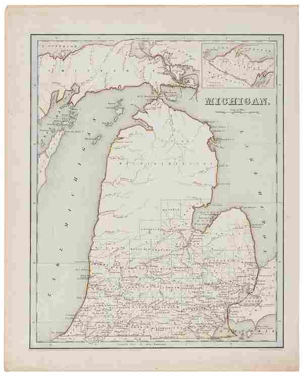 [GREAT LAKES REGION]. BRADFORD, Thomas Gamaliel