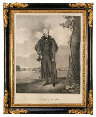 JACKSON, Andrew (1767–1845). –– EARL,