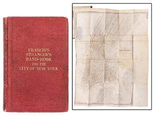 [NEW YORK CITY]. Francis's New Guide to the
