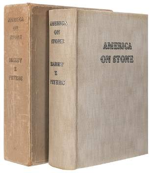 PETERS, Harry T. America on Stone: The Other