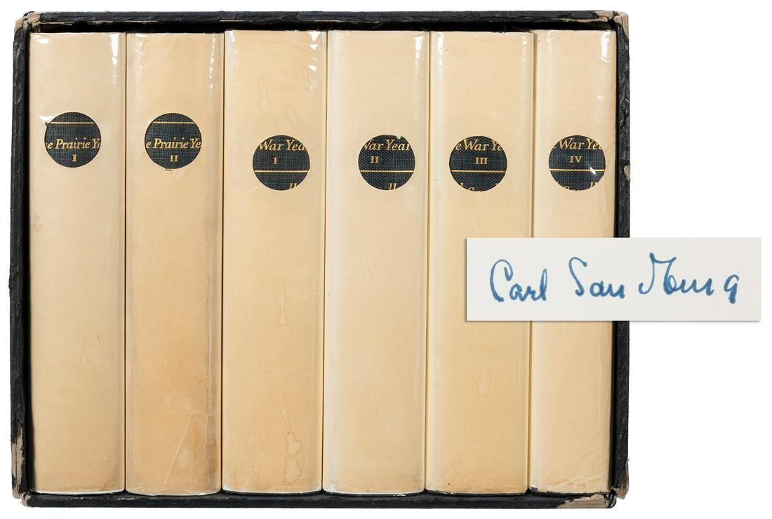 SANDBURG, Carl (1878–1967). Abraham Lincoln: The