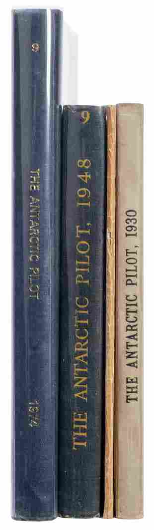 [THE ANTARCTIC PILOT]. A group of 3 editions,