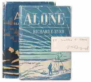 BYRD, Richard Evelyn (1888–1957). Alone. New