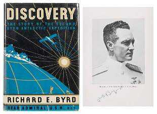 BYRD, Richard Evelyn (1888–1957). Discovery: The