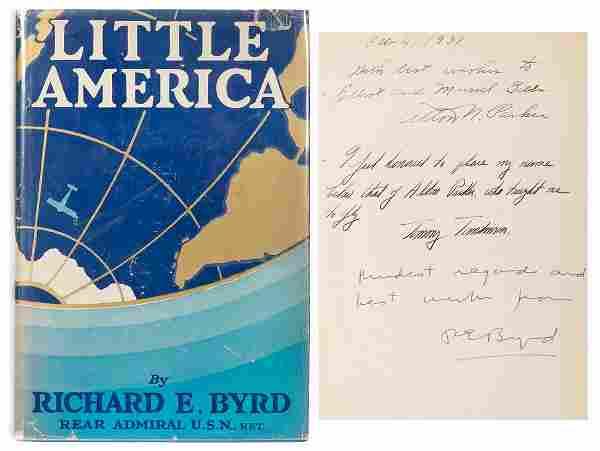 BYRD, Richard Evelyn (1888–1957). Little America: