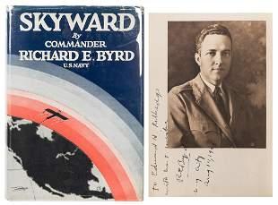 BYRD, Richard Evelyn (1888–1957). Skyward. New