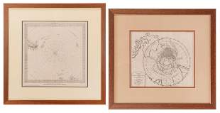 [POLAR]. A group of maps and charts, consisting of: