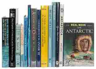 [ANTARCTIC EXPLORATION]. A collection of over 130