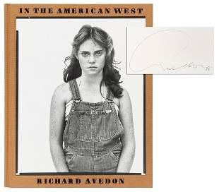 AVEDON, Richard, photographer (1923–2004). In the