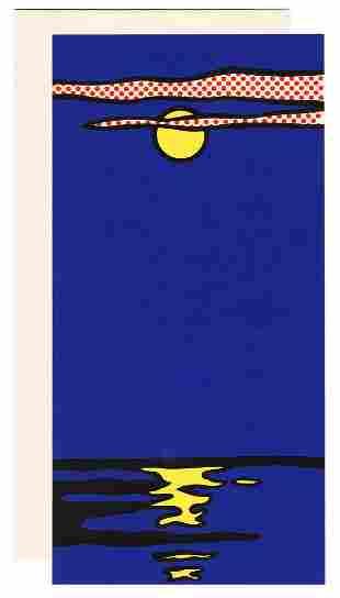 LICHTENSTEIN, Roy (1923–1997). Silk Screen
