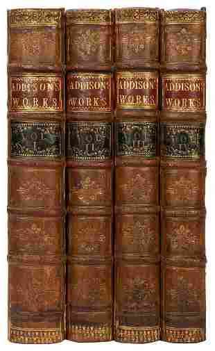 ADDISON, Joseph (1672–1719). The Works…