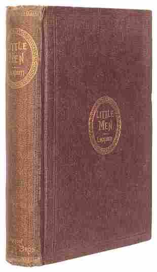 ALCOTT, Louisa May (1832–1888). Little Men: Life