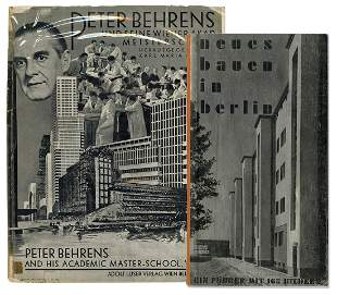 [ARCHITECTURE]. BEHRENS, Peter (1868–1940). Peter
