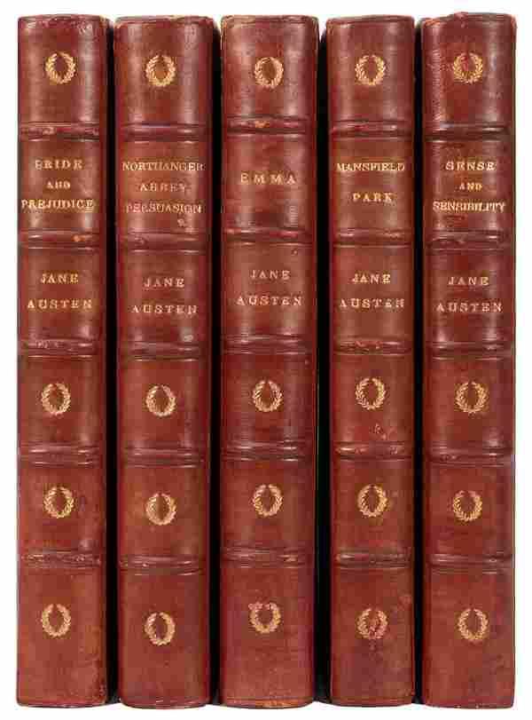 AUSTEN, Jane (1775–1817). [Works…]. London: