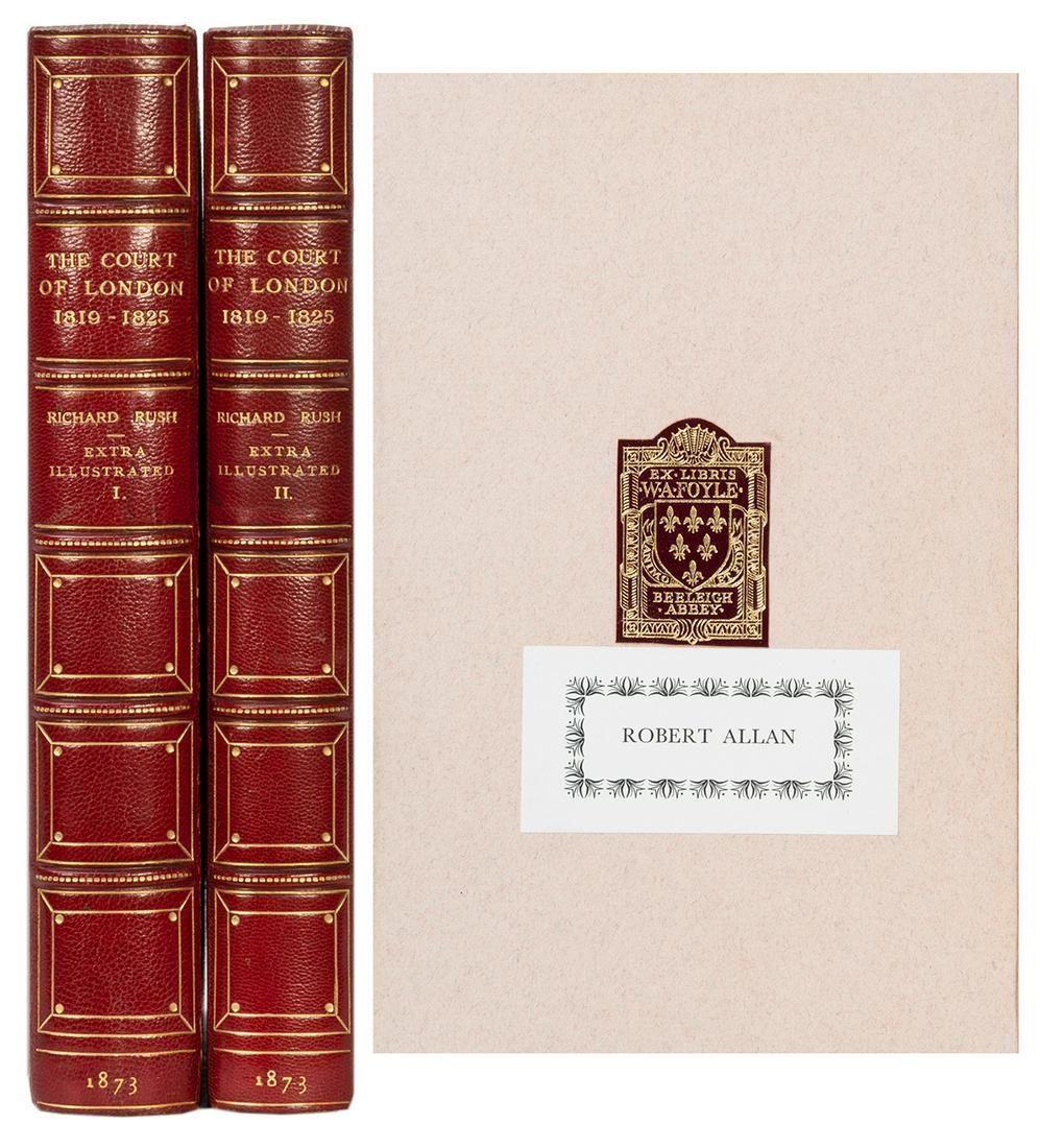 [BINDING]. RUSH, Richard (1780–1859). The Court