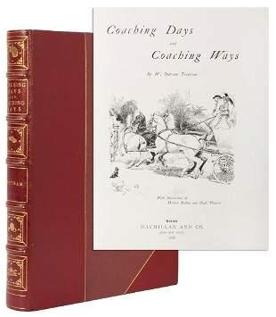 [BINDING]. TRISTRAM, W. Outram. Coaching Days and