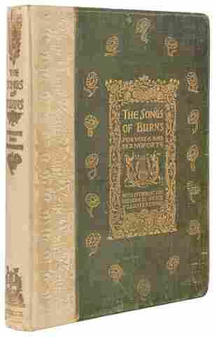 [BURNS, Robert (1759–1796)]. The Songs of