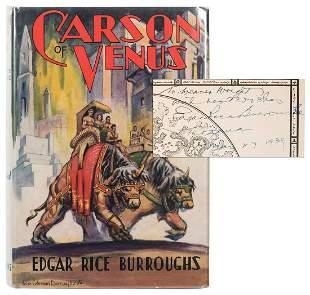 BURROUGHS, Edgar Rice (1875–1950). Carson of