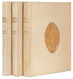 BURY, Richard de (1287–1345). Philobiblon. New