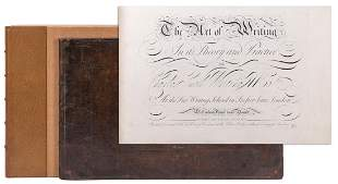 [CALLIGRAPHY]. SNELL, Charles (1670–1733). The