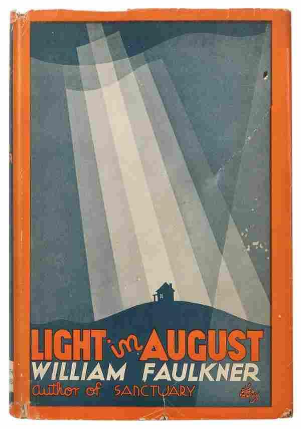 FAULKNER, William (1897–1962). Light in August.