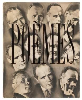 GENET, Jean (1910-1986). Poèms. [Lyon:] L'