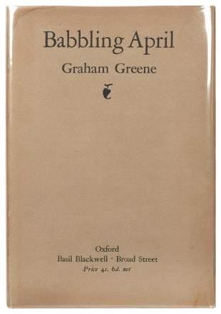 GREENE, Graham (1904–1991). Babbling April.