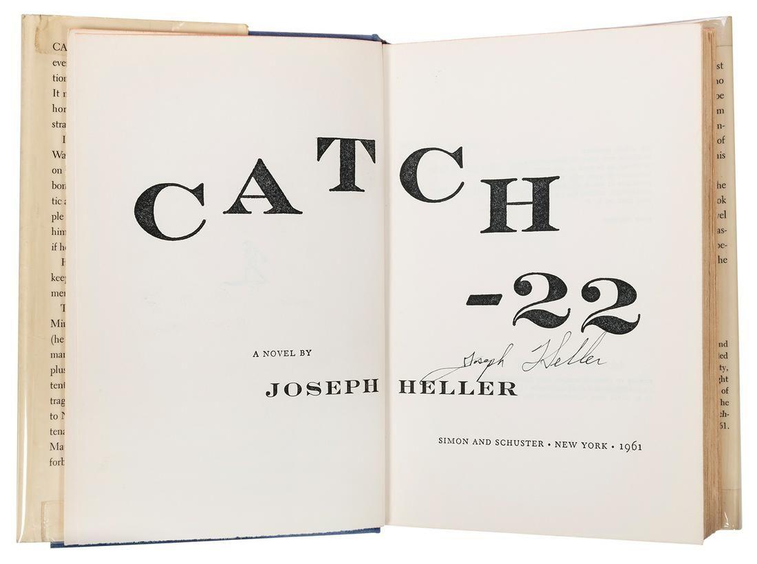 HELLER, Joseph (1923–1999). Catch-22. New York: