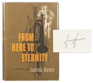 JONES, James (1921–1977). From Here to Eternity.