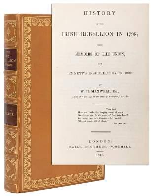 MAXWELL, William Hamilton (1792–1850). History of