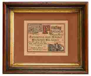[PRINTERS' EXHIBITION]. Printing Stationery &