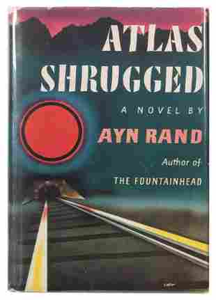 RAND, Ayn (1905–1982). Atlas Shrugged. New York:
