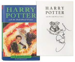 ROWLING, J. K. Harry Potter and the Half–Blood