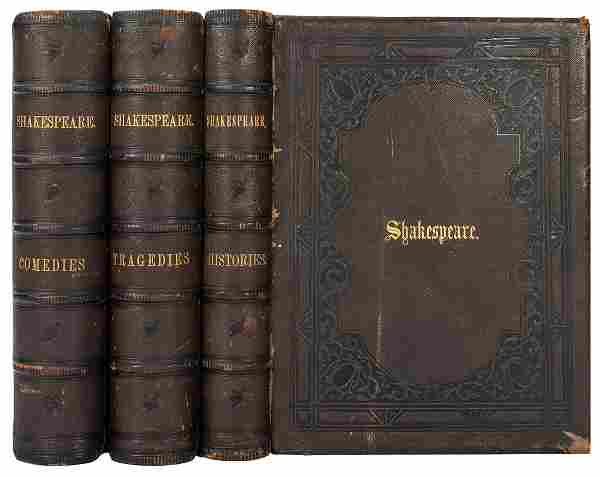 [SHAKESPEARE, William]. The Complete Works of
