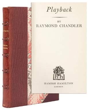 CHANDLER, Raymond (1888–1959). Playback. London: