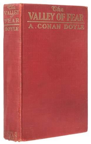 DOYLE, Arthur Conan (1859–1930). The Valley of