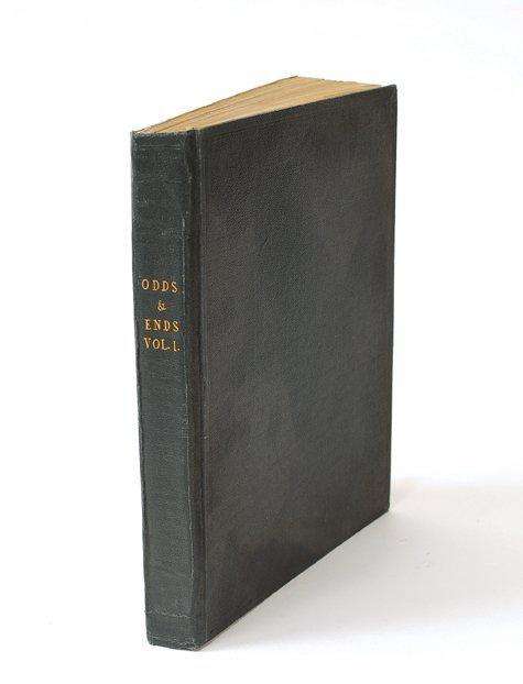 3: Adams, Graham. Odds & Ends Vol. 1. [London], n.d.