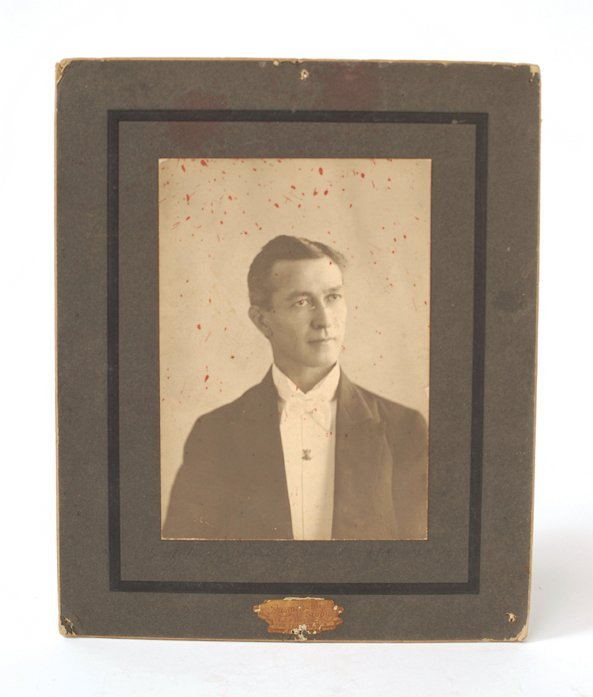 5: Portrait of Del Adelphia. San Francisco, Rasmussen S