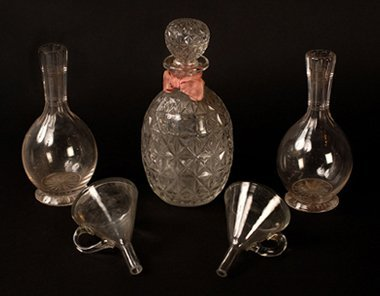 7: Glassware said to belong to John Henry Anderson