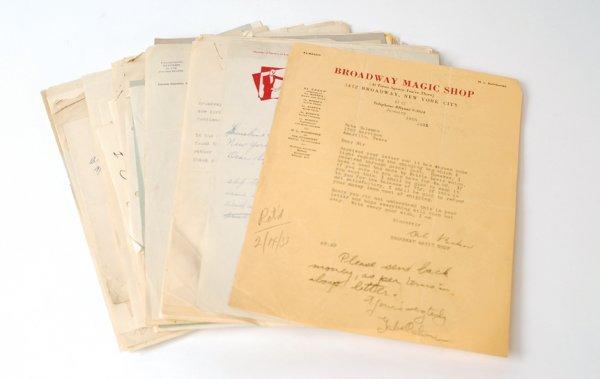 14: Baker, Al. Gigantic archive of correspondence